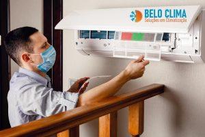 Manutenção de ar condicioanado em SP